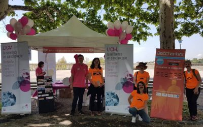 La team Femmes 3000 LR se mobilise pour annoncer les Bacchantes Montpellier 2018