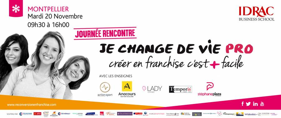 La franchise une passerelle pour créer son emploi et booster l'entrepreneuriat féminin, Initiative soutenue par Femmes 3000 Languedoc Roussillon