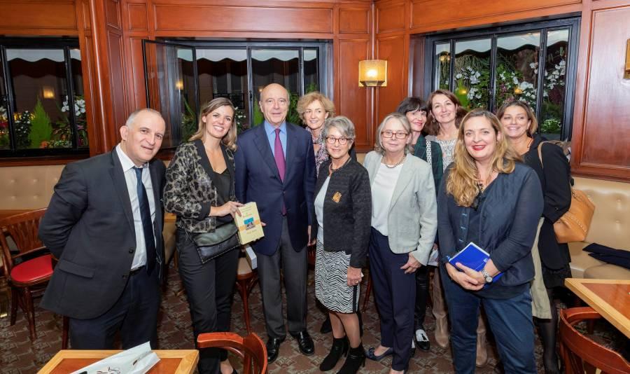 Mardi du Flore exceptionnel avec Alain Juppé le mardi 6 novembre 2018