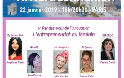L'entrepreneuriat au Féminin – 9ème rendez-vous de l'innovation le 22 janvier 2019
