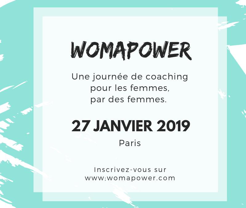 WomaPower – Invitation évènement le 27 janvier 2019