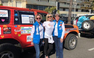 Femmes 3000 au départ du Rallye Aïcha des Gazelles