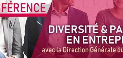 Conférence sur la diversité et parité en entreprise