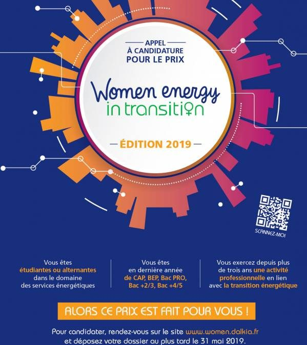 Prix Women Energy in Transition avec Dalkia