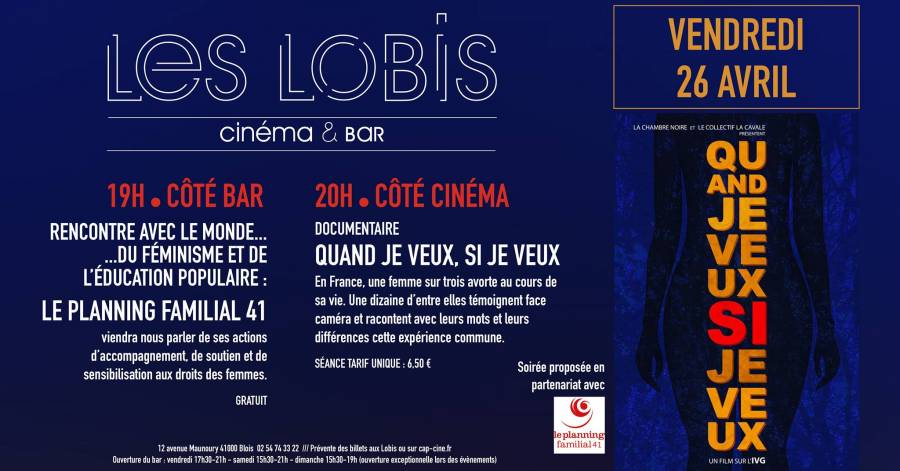 Projection film documentaire le 26 avril 2019