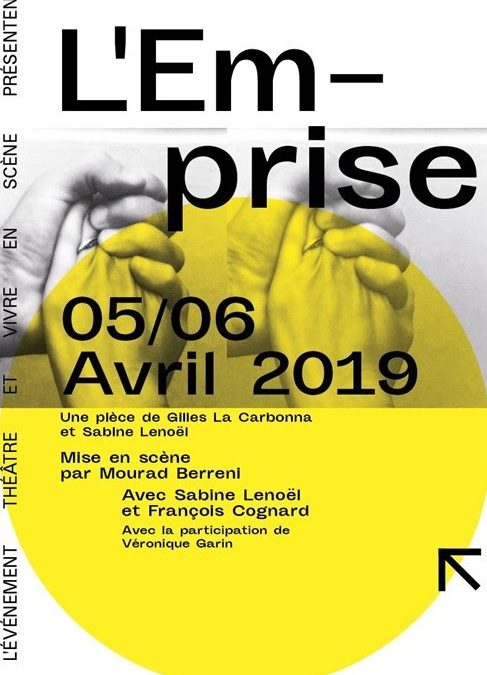 L'Événement ThéâtreetVivre en Scène – Invitation les 5 et 6 avril 2019