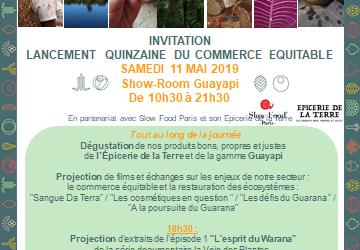 Quinzaine du commerce équitable avec Guayapi – le samedi 11 mai 2019