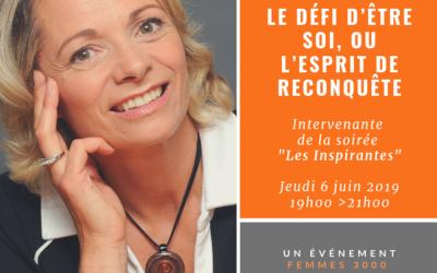 Soirée Les Inspirantes Femmes 3000 – 6 Juin 2019