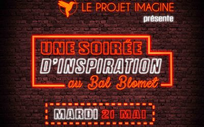 Le Projet Imagine – Invitation au Bal Smolet le 21 mai 2019