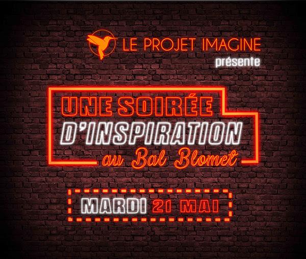 Le Projet Imagine – Invitation au Bal Smolet le 21 mai 2019