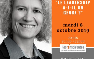 Le Leadership a-t-il un genre? – 8 octobre 2019