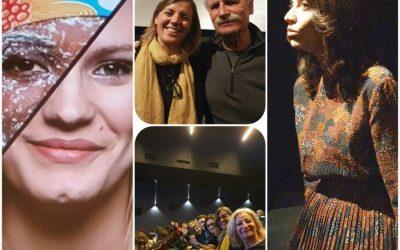 Femmes3000 à l'avant-première du film Woman avec Yann Arthus-Bertrand et Anastasia  Mikova, sortie du film le 4 mars 2020