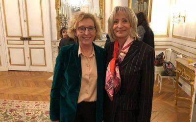 Alyne Bouix ambassadrice de l'égalité rencontre Muriel Pénicaud