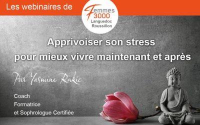 Webinaire : Gestion du stress par Yasmine Rakic