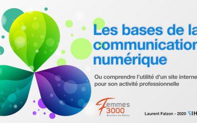 Les bases de la communication numérique – Webinaire du 30 avril à 18H30