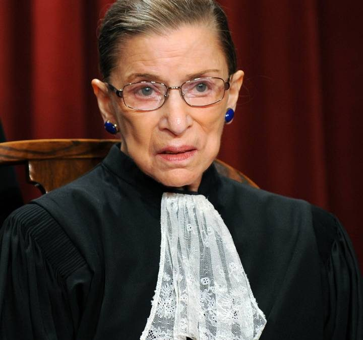Disparition de Ruth Bader Ginsburg