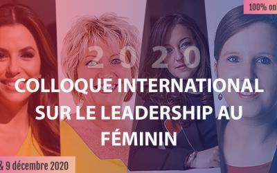 Colloque international sur le Leadership au féminin du 7 au 9 décembre