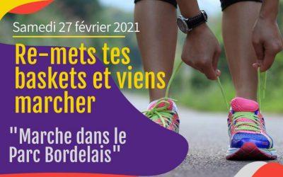 Notre prochaine marche sportive aura lieu le samedi 27 février