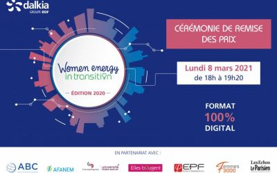 Le 8 Mars  avec Femmes 3000 et son partenaire Dalkia et Women Energy In Transition